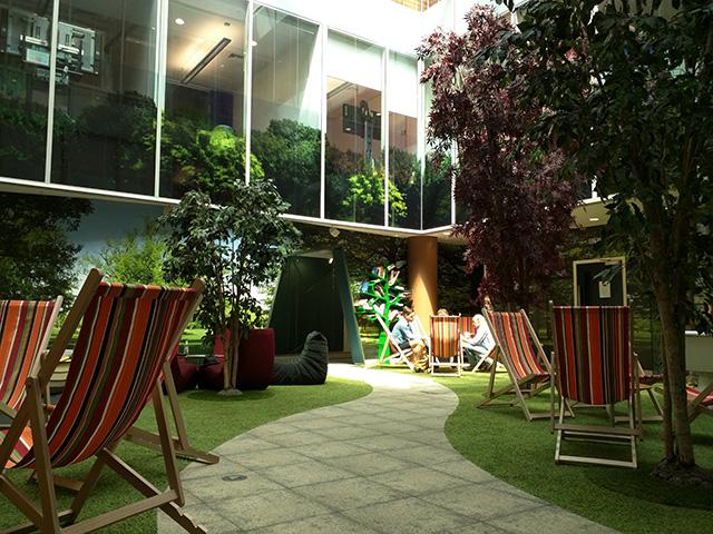 Google London Garden