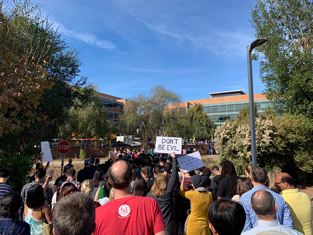 Photos From The Google Walkout
