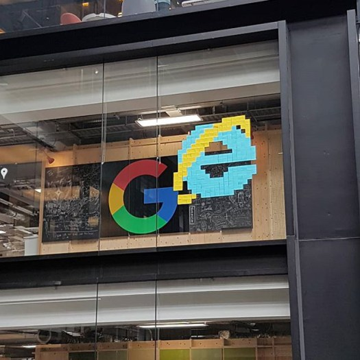 Internet Explorer Logo In Google Office