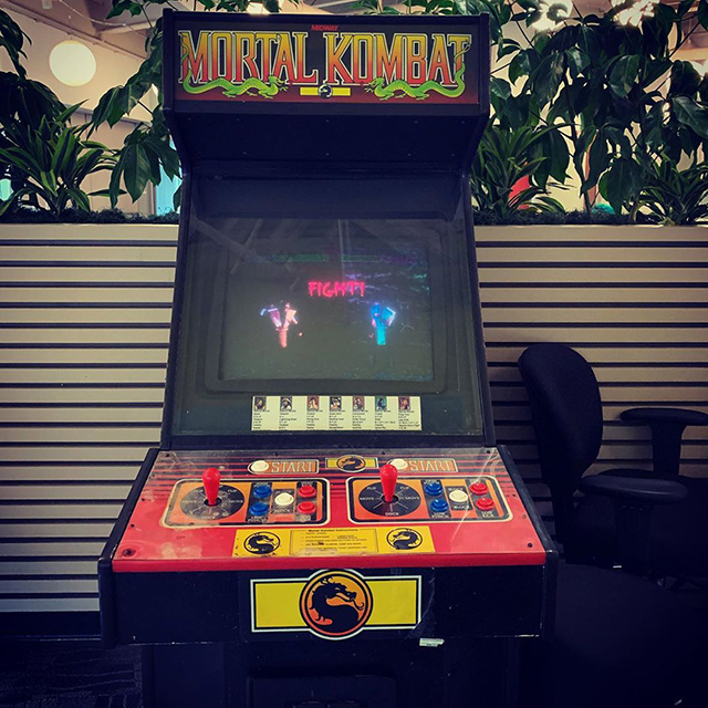 Mortal Kombat Arcade Game At Google