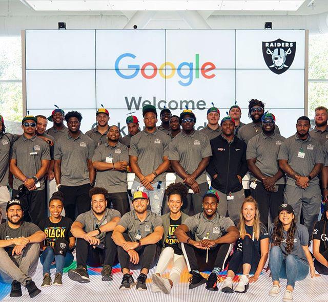 Oakland Raiders At Google