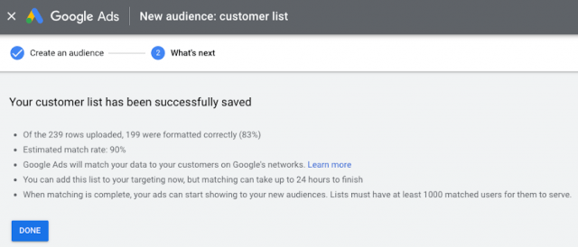 , Google Adverts Upgrades Buyer Match To Present Lists To Present Actual-Time Match Fee, Docuneedsph