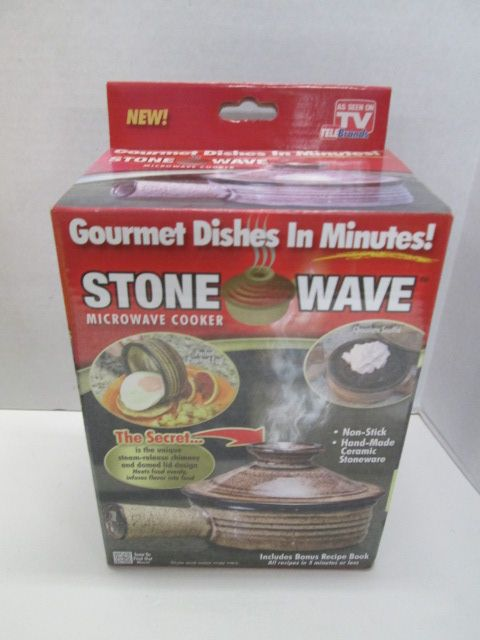 stone wave gourmet microwave cooker as seen on tv