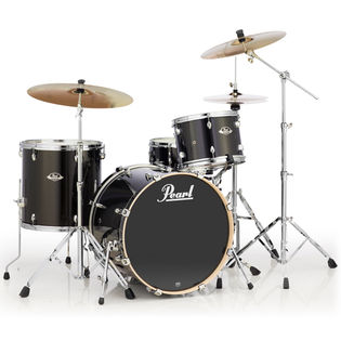 Pearl Beginner Drum Sets   Pearl Drums   Steve Weiss Music The Pearl Export 4 Piece Drum Set includes 22  x 18  Bass Drum  13  x 9   Rack Tom  16  x 16  Floor Tom  and 14  x 5 5  Snare Drum