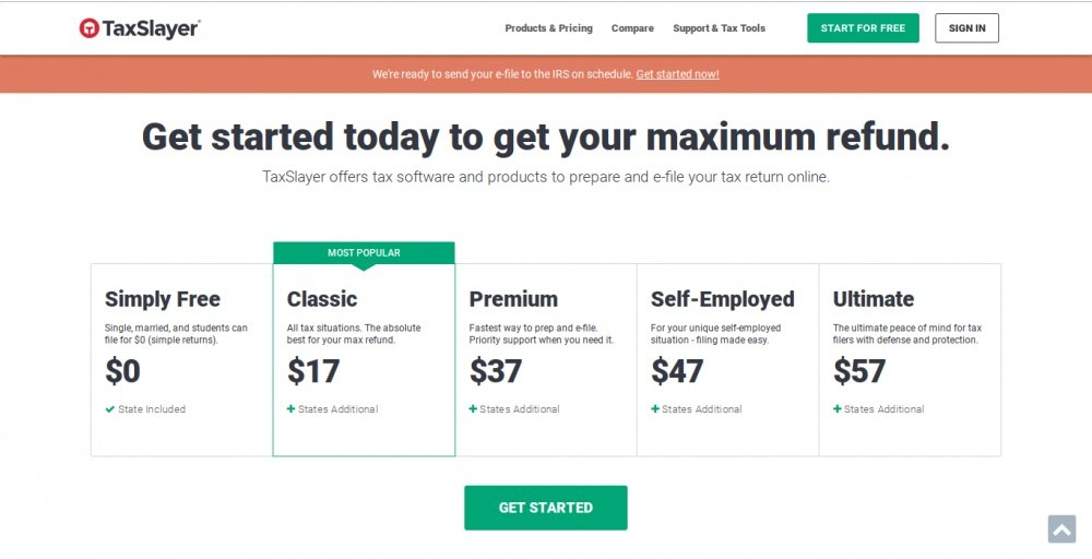 taxslayer review