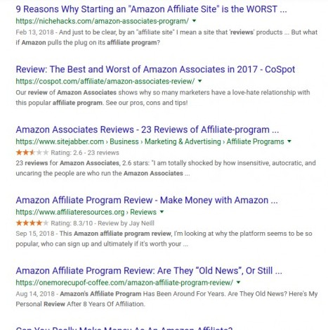 Amazon Affiliate Marketing Program Reviews - best affiliate marketing networks
