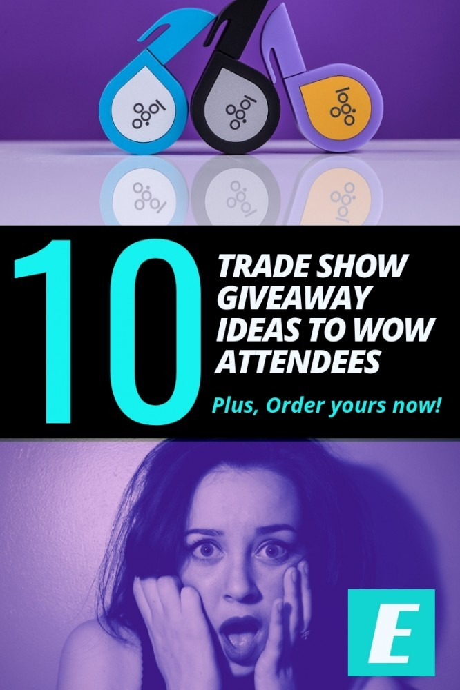 tradeshow giveaway ideas