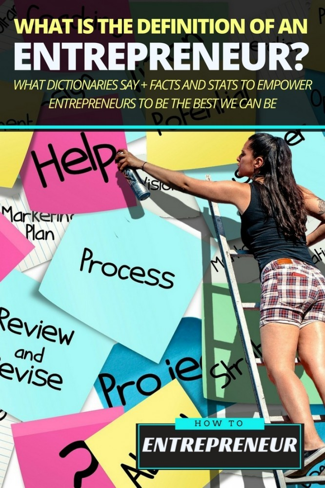 what is the definition of an entrepreneur