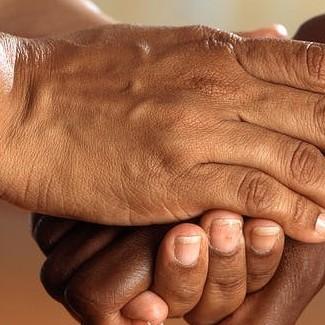 Hand Grasped Together - Identify Depression Triggers