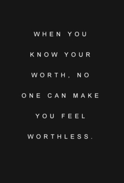 Ownership of your worth