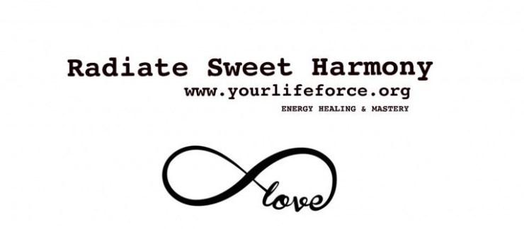 Radiate sweet harmony