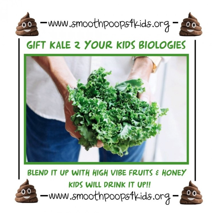 gift kale to your kids