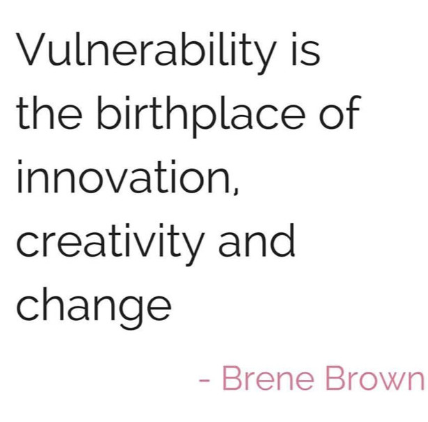 Innovate with vulnerability