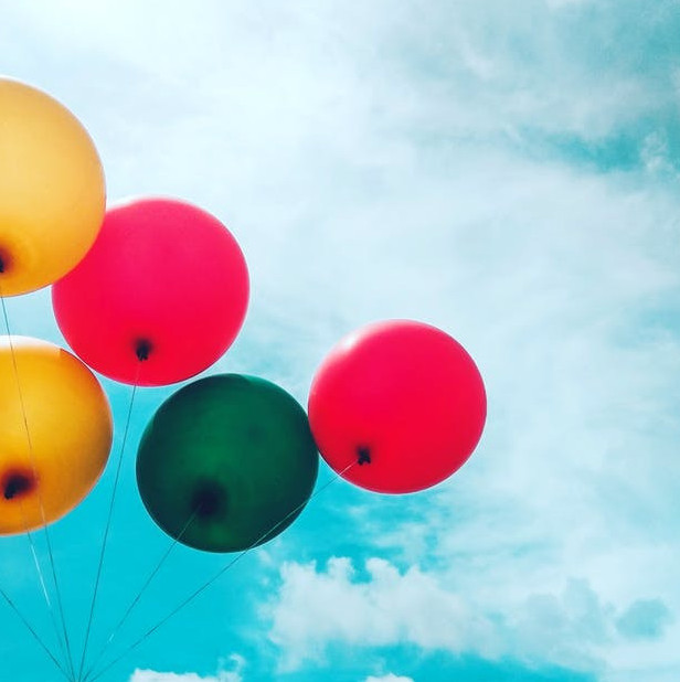 Party of life calls for balloons