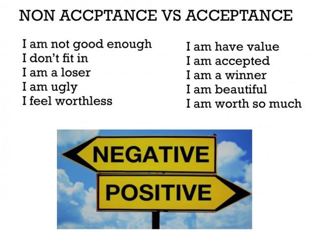Accept and non accept