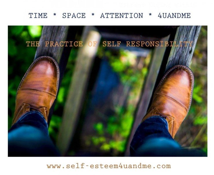 step out into responsibility