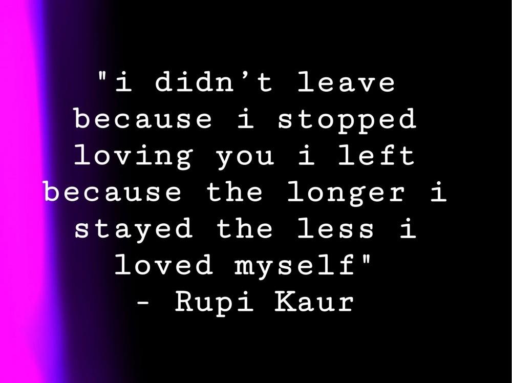 Rupi Kaur poem reviews