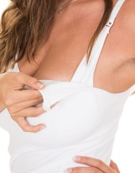 nursing top and built in bra twins