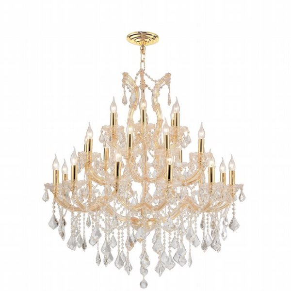 crystal chandelier tiered # 46