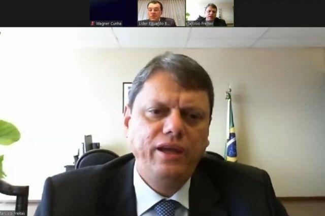 Ministro de Infraestrutura anuncia pavimentação de trecho da BR-319 em live  com Braga – Portal do Marcos Santos - Portal do Marcos Santos