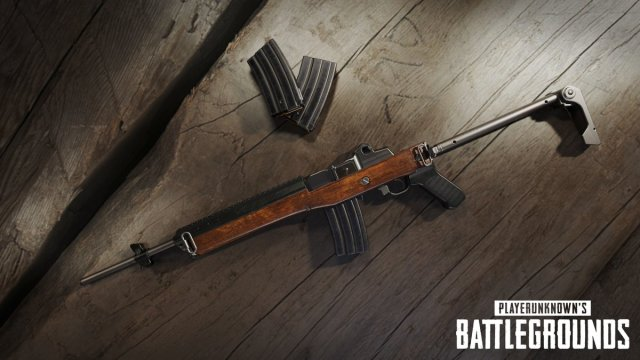 PUBG Mini 14 gun 01 The latest update for PlayerUnknowns Battlegrounds is here   New weapon added along with plenty of bug fixes