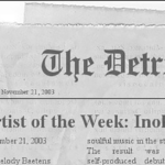 Inohs Sivad Artist of the Week Detroit News 2003