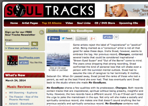 SoulTracks Review of No Goodbyes