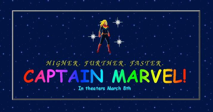 Um ótimo exemplo da utilização do Marketing de Nostalgia é o site da Capitã Marvel, todo inspirado na internet dos anos 90