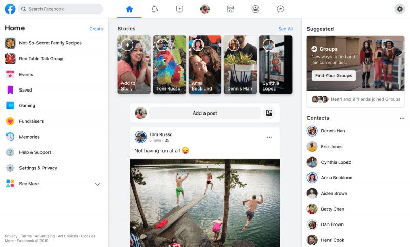 O design minimalista é um aliado do UX e ainda uma grande aposta para interfaces digitais. O Facebook percebeu isso em sua nova atualização