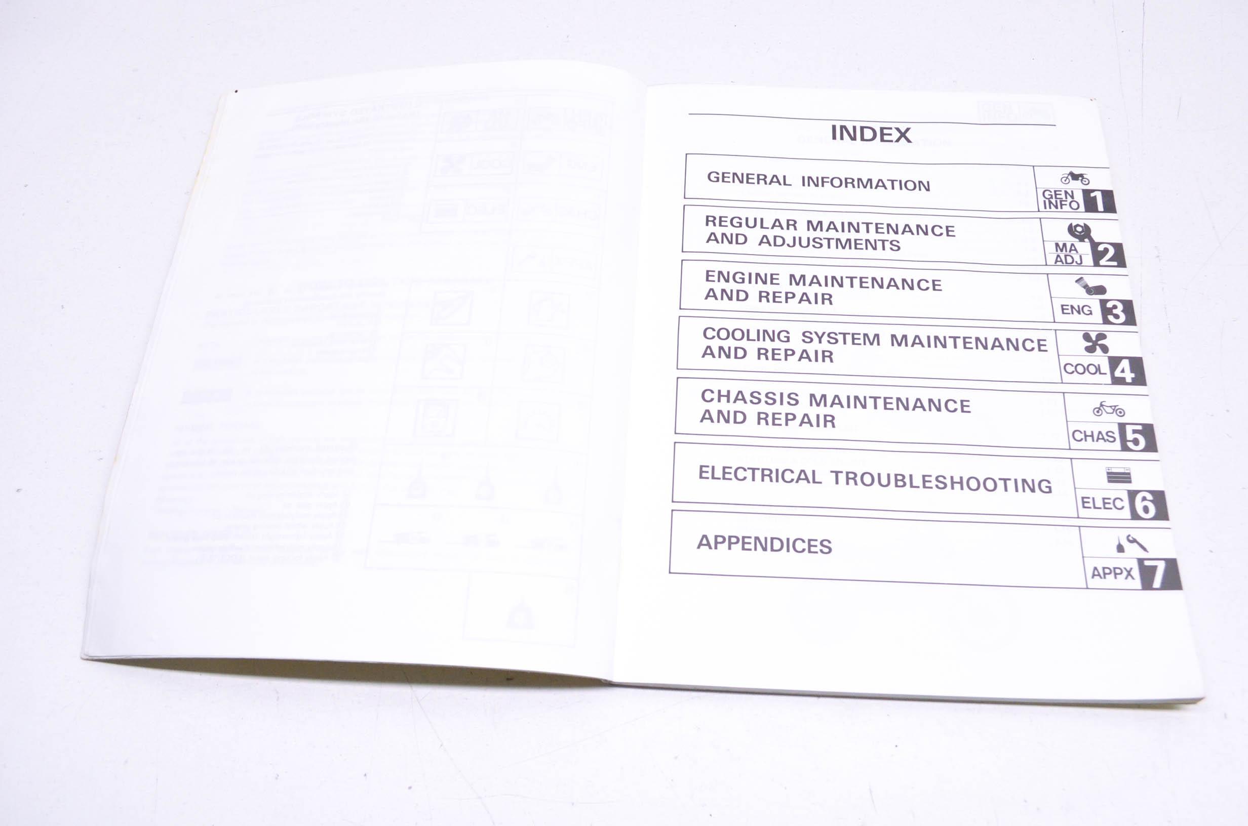 Oem Yamaha Lit 06 78 Owner S Service Manual Yz80w