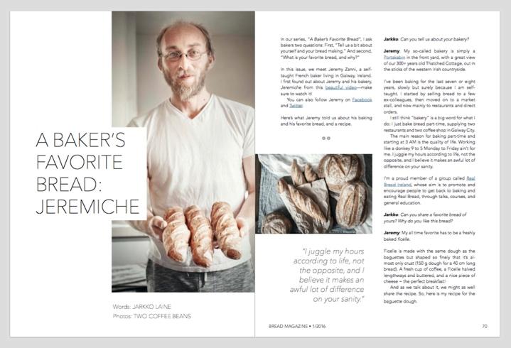 A Baker's Favorite Bread: Jeremiche