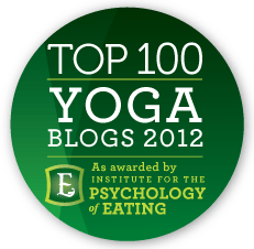 top yoga blogs badge