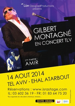 Gilbert Montagné assure son concert à Tel Aviv et règle ses comptes