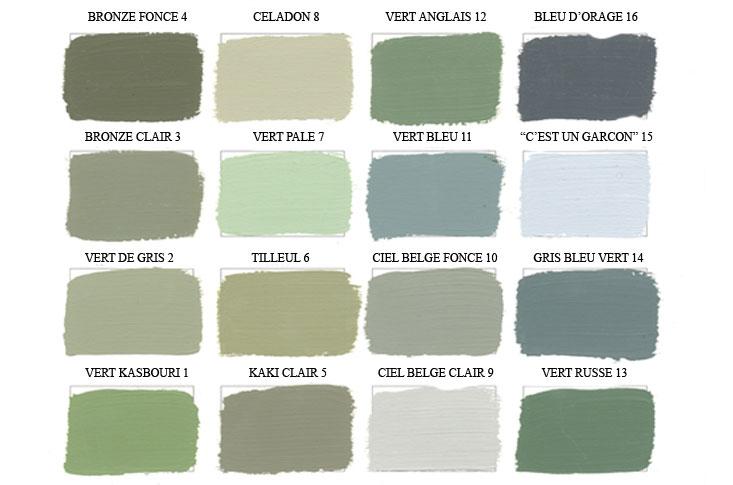 Le mot du jour tilleul couleur Nuance de couleur peinture