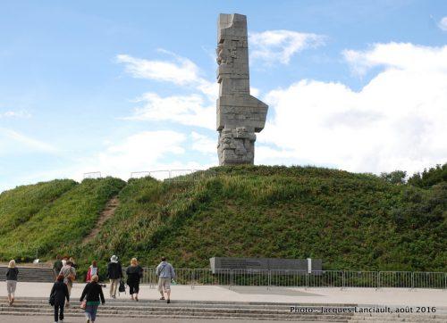 Monument aux défenseurs de Westerplatte, Gdańsk, Pologne