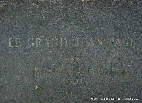 Le grand Jean-Paul, place Jean-Paul Riopelle, quartier international, Montréal, Québec
