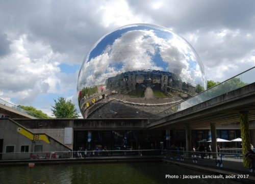 Géode, Cité des sciences et de l'industrie, Paris, France