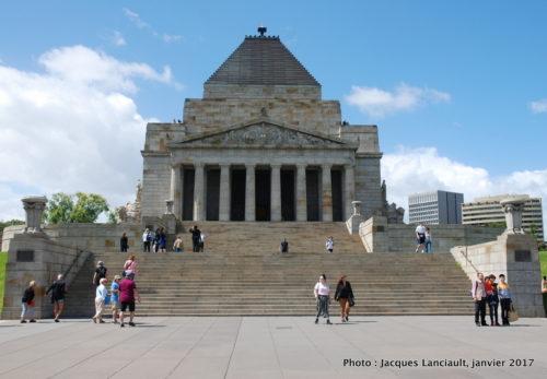 Shrine of Remembrance, Melbourne, Australie