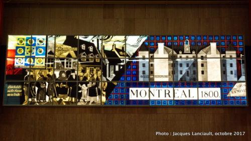 La vie à Montréal au XIXe siècle, Montréal, Québec