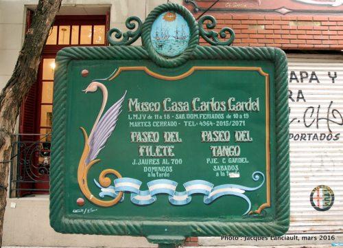 Museo Casa Carlos Gardel, Buenos Aires, Argentine