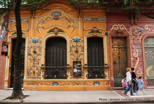 Museo Casa Carlos Gardel, quartier Abasto, Buenos Aires, Argentine