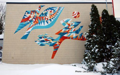 Hommage à l'esprit sportif, Montréal-Nord, Québec