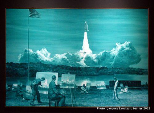 Action painting II, Musée des beaux-arts de Montréal