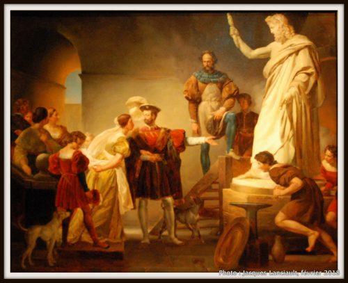 François Ier dans l'atelier de Benvenuto Cellini, Musée des beaux-arts de Montréal