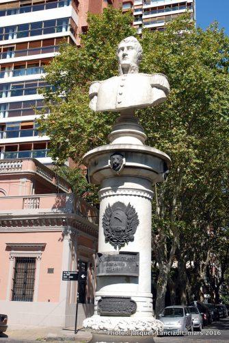 Plaza Barrancas de Belgrano, quartier Belgrano, Buenos Aires, Argentine