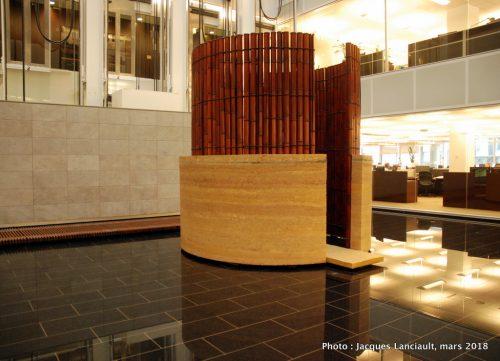 Yama, édifice Jacques-Parizeau, Montréal, Québec