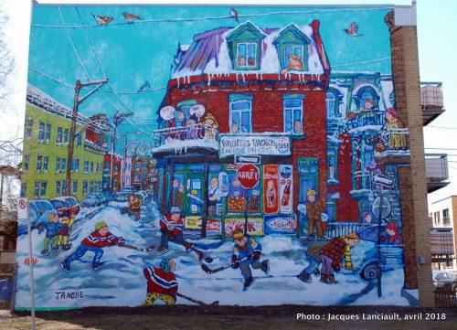 Le Montréal de Miyuki Tanobe, Verdun, Montréal, Québec