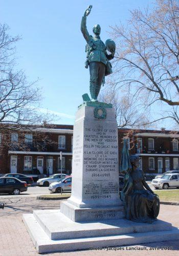 Monument aux braves de Verdun, Cœur de Lion McCarthy, Verdun, Montréal, Québec