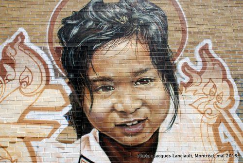 Jeune cambodgienne, Fonki, Montréal, Québec