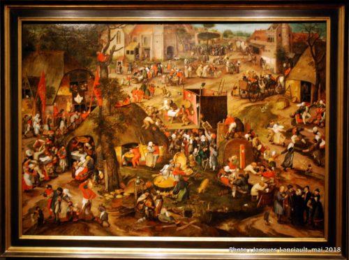 Kermesse flamande, Rijksmuseum, Amsterdam, Pays-Bas